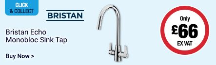 Bristan Echo Monobloc Sink Tap Only £66