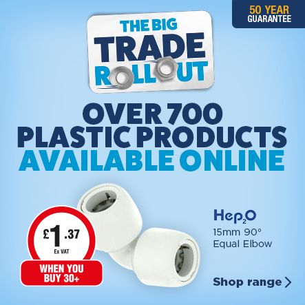 Over 700 Plastic Plumbing Products Available Online