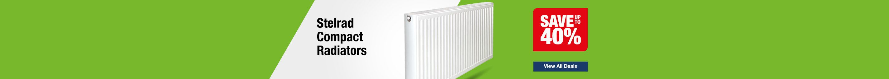 Save up to 40% on Stelrad Compact Radiators
