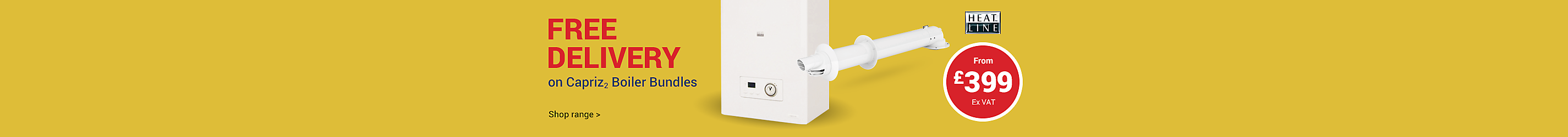 Boiler and Flue Bundle £399