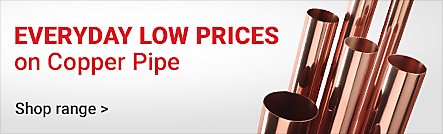Everyday Low Prices on Copper Pipe
