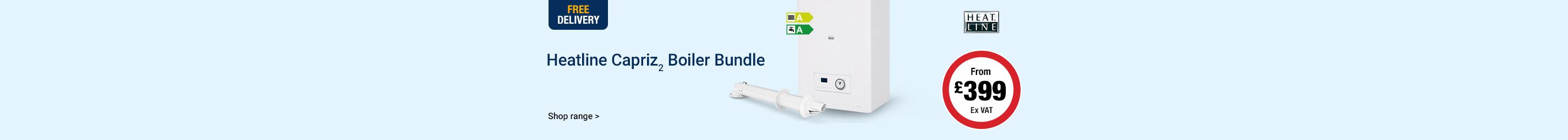 Heatline Capriz Boiler Bundle