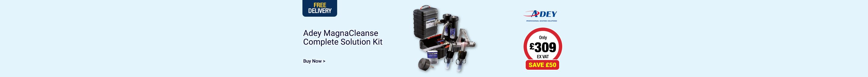 Save £50 on Adey MagnaCleanse Kit