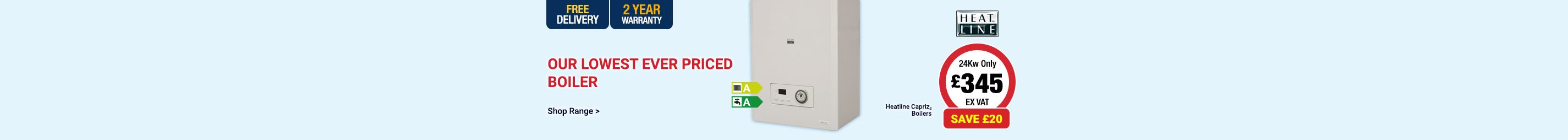 Our Lowest Ever Priced Boiler!