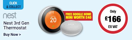 Free Google Home Mini Worth £40 with Nest