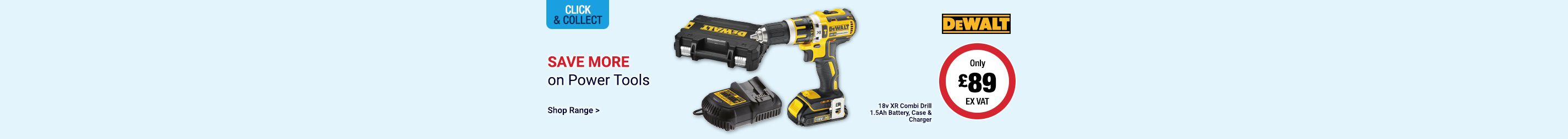 Save on Power Tools