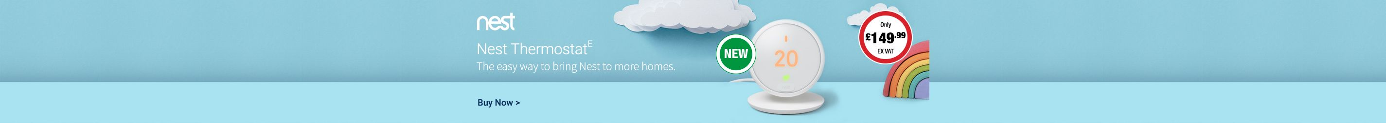 NEW Nest Thermostat E only £149.99