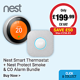 Nest Smart Thermostat & Smoke Alarm Bundle