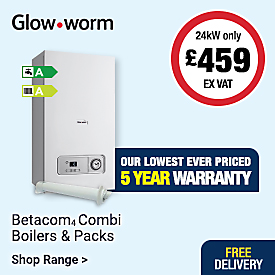 Lowest ever priced Betacom4 Combi Boiler