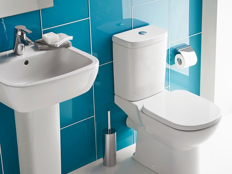 Ideal Standard Toilet : Ideal standard tempo white bathroom cloakroom tap basin