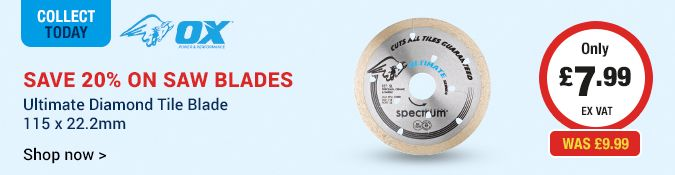 Save 20% on Saw Blades