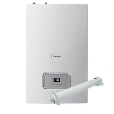 Glow-Worm Energy 25R Heat Only Boiler ErP 25kW 10015663 + Horizontal ...