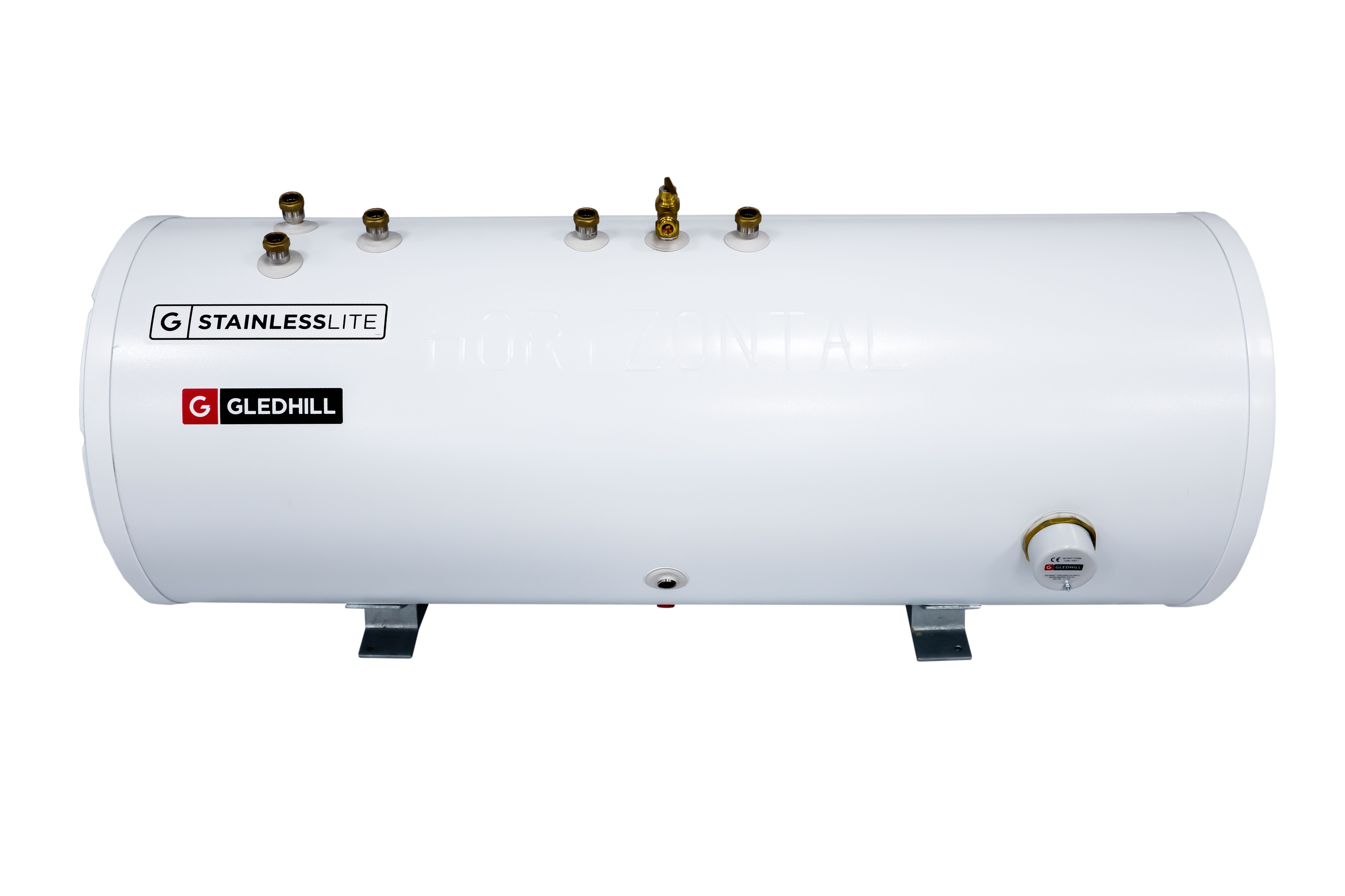 Gledhill Stainlesslite Plus 180L Indirect Horizontal Cylinder City