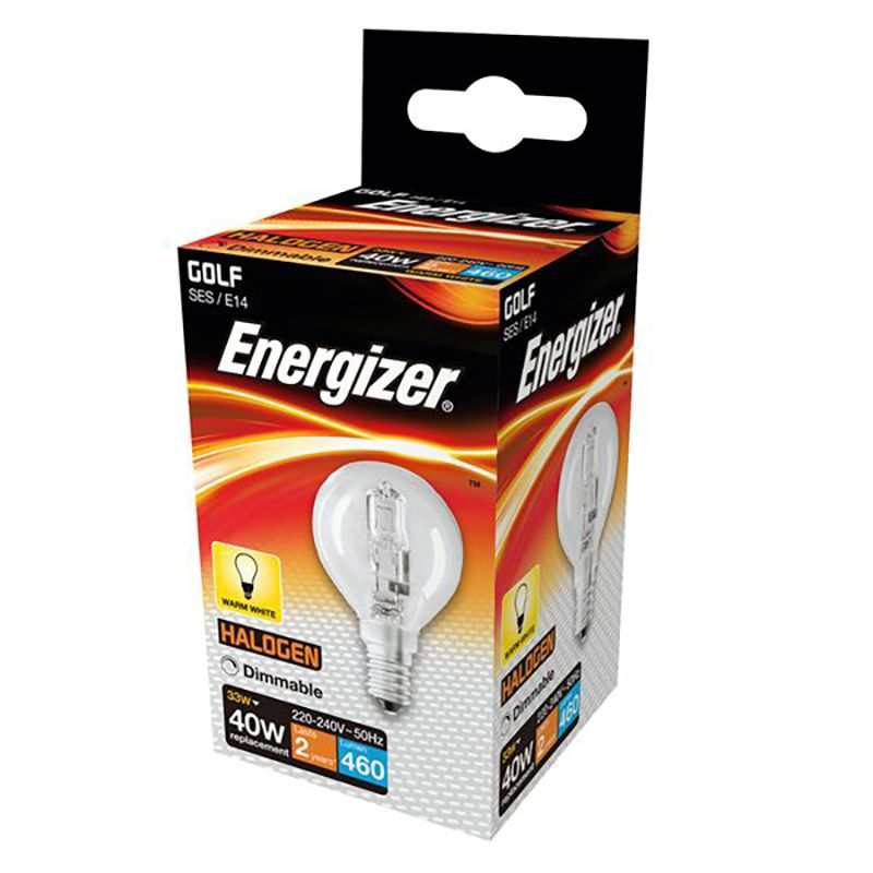 eco lighting supplies. Energizer S4884 33W Golf E14 Eco Lamp Lighting Supplies