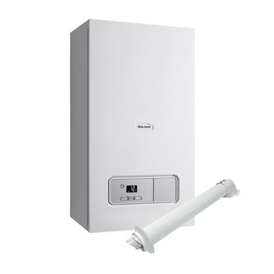 Glow-Worm Ultimate 3 30kW Combi Boiler and Horizontal Flue and 10 ...