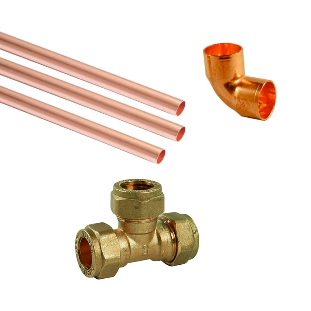 Plumbing city plumbing supplies for Copper to plastic fittings