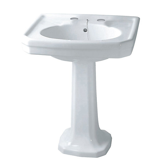 Bathroom Sink 500 X 400 iflo herita basin 500 x 400 mm 1 tap hole | city plumbing supplies