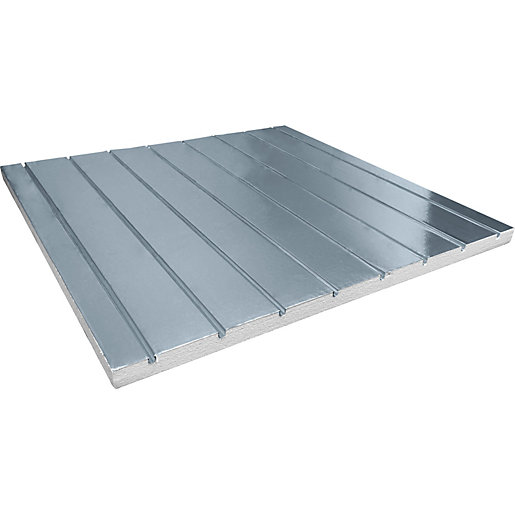 Solfex Neo Foil Suspended Floor Grooved Insulation Panel