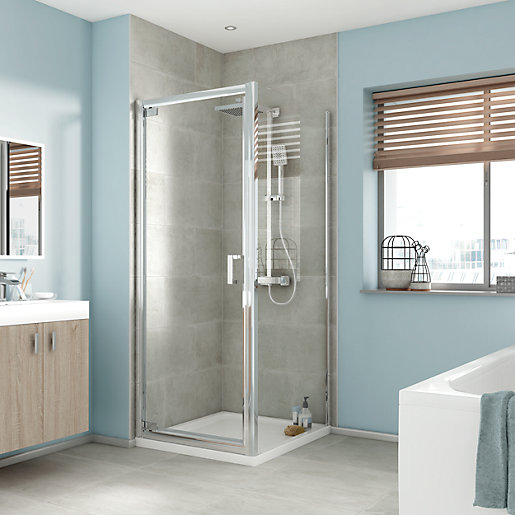 iflo Edessa Shower Enclosure Side Panel 700mm | City Plumbing Supplies