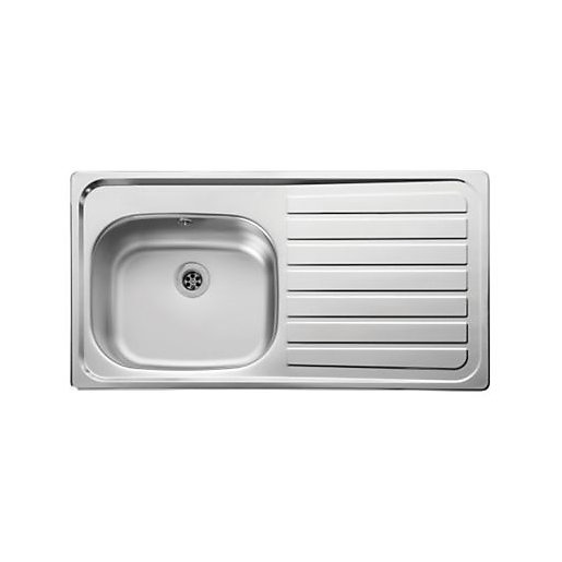 Leisure Lexin 1 Bowl Inset Kitchen Sink (Right Hand) LE95R | City ...