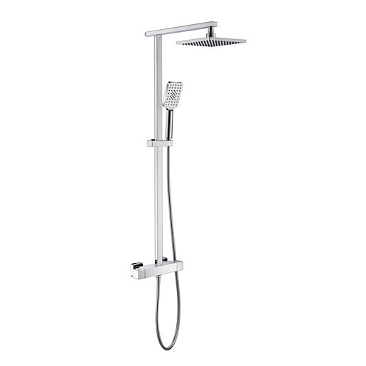 iflo Duxford Thermostatic Bar Mixer Shower | City Plumbing Supplies