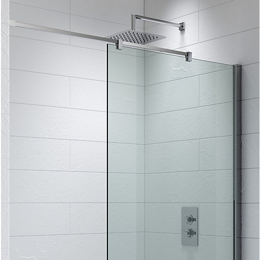 Kudos Ultimate2 Shower Enclosure Panel Ceiling To Wall Stabiliser Including  Rail 1500 Mm 10WPCW