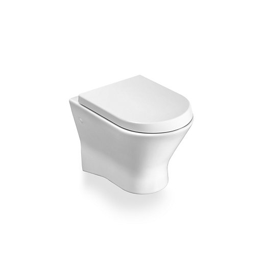 roca nexo wall hung toilet pan 346640000 city plumbing supplies. Black Bedroom Furniture Sets. Home Design Ideas