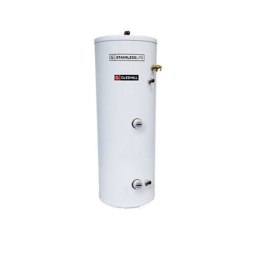 Gledhill Stainless Steel 180L Direct Unvented Cylinder | City ...