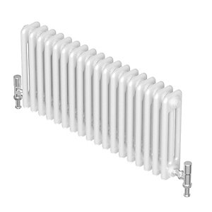 Barlo Divo Horizontal 3 Column Radiator 600 x 552 mm QMC308