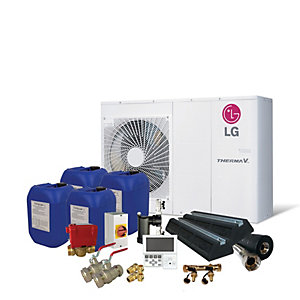 LG Therma-V 5kW Prestige Air Source Heat Pump Pack