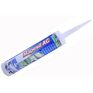 Mapesil AC Silicone Sealant Black - 310ml