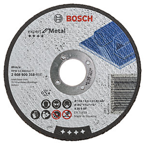 Bosch 115mm Metal Cutting Disc