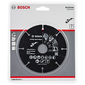 Bosch Carbide Multi Cutting Wheel