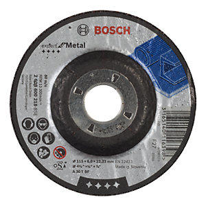 Bosch Metal Grinding Disc 115 x 22.2 x 6mm