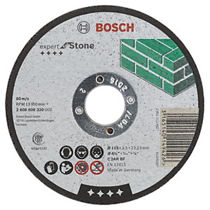 Bosch Stone Cutting Disc 2608600320 - 115 x 22.2 x 2.5mm