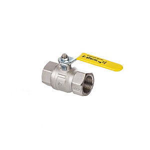 Altecnic Ai-033105 Intaball Female x Female Ball Valve Yellow Lever (Gas) 3/4in