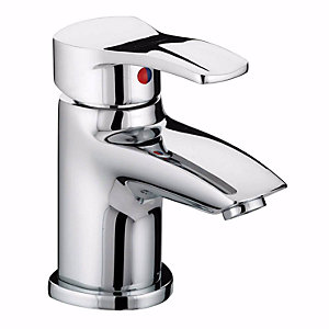 Bristan Capri Basin Mixer Tap Chrome + Pop Up Waste Capbasc