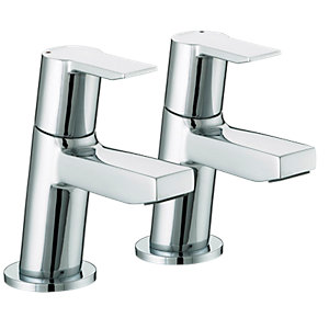 Bristan Pisa Basin Taps 1/2 Chrome Ps 1/2 C