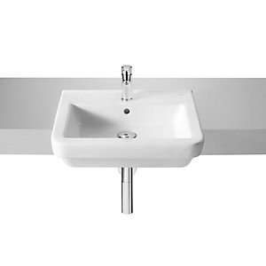 Roca Dama-N Semi Recessed Basin 520 x 440 mm 1 Tap Hole 32778S000
