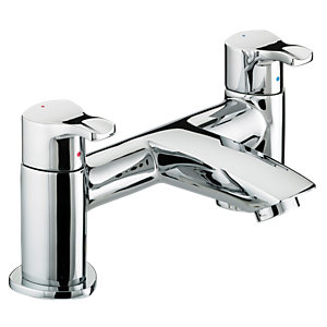 Bristan Capri Pillar Bath Filler Tap Chrome