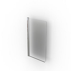 Kudos Original Bath Shower Screen 1500 x 800 mm (No Handle) 3BASCNHS