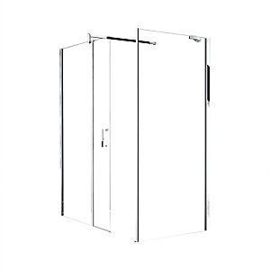Novellini Go Fixed Panel Shower Screen 1950 x 360 mm GOF36-1K