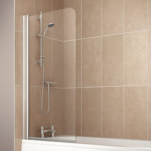 Single Panel Bath Screen 1400 x 750mm