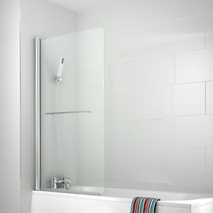 iflo Ravana Single Panel Bath Screen 1500 x 850 mm