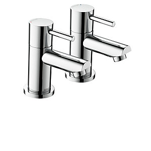 Bristan Blitz Chrome Plated Bath Taps - Btz 3-4 C