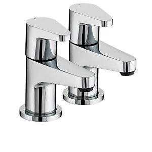 Bristan Quest Bath Taps Chrome