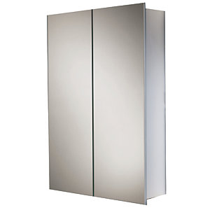Hib 43600 Jupiter Two Door Aluminium Cabinet