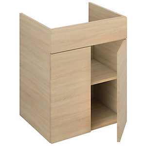 iflo Aliano Wall Unit Oak 600 x 480 mm