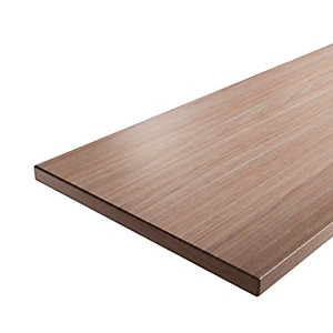 iflo Worktop Laminate Walnut 28 x 485 x 2000 mm