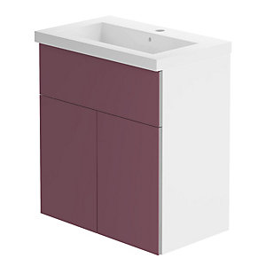 Be Modern 600mm Breeze Basin Unit/Viola Premium